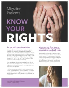 Migraine Patient Rights