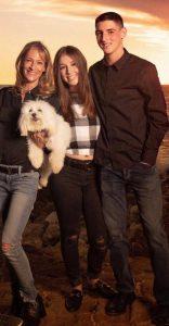 Bari and her kids