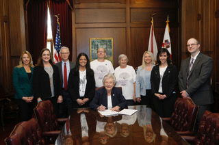 Swapna and Gov Ivey