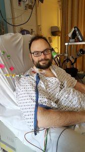 Doug in the hospital